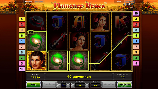 flamenco roses slot