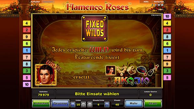flamenco roses stargames