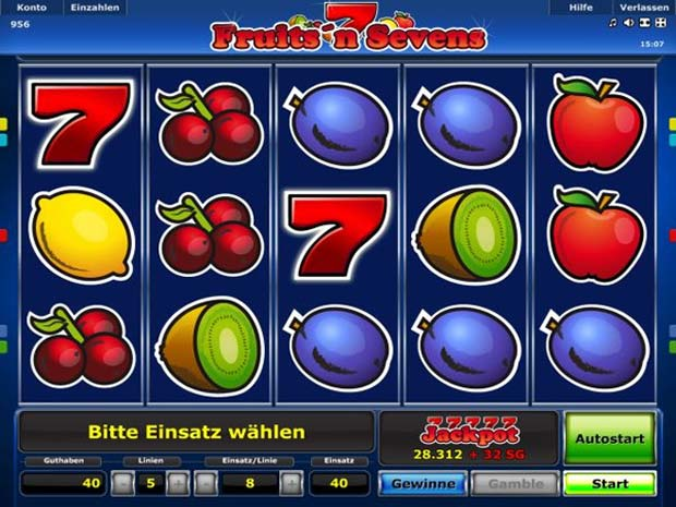 online slots sevens kostenlos spielen