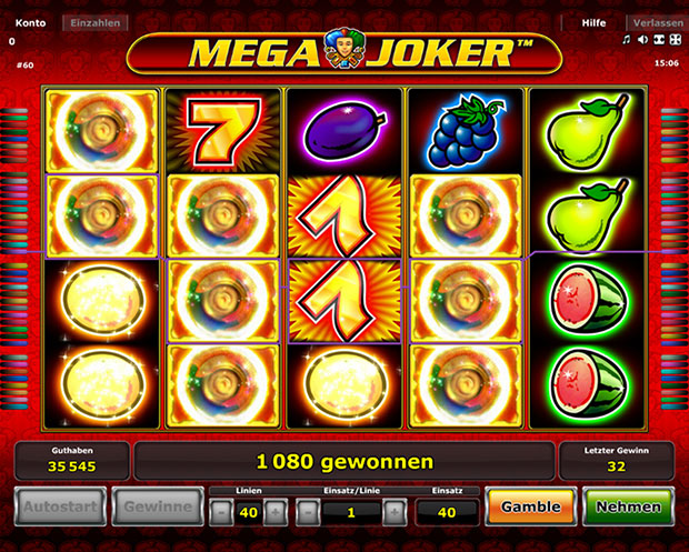 online casino mit book of ra mega joker