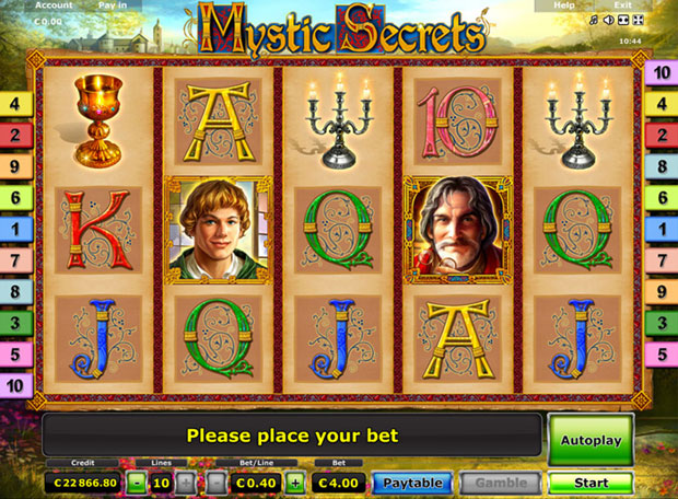 Royal Secrets Spielautomat - Spielen Sie die gratis Version