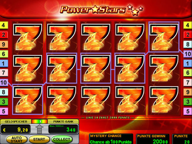 mansion online casino power star