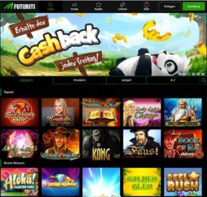 Futuriti casino speziell für Novolinefans aus Oestereich